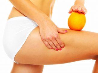 peau d'orange et de la cellulite