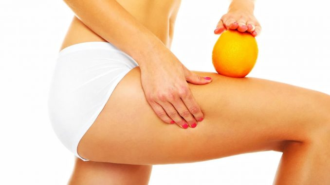 peau d'orange et de la cellulite